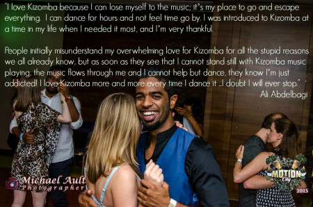 Kizomba is my place to go and escape everything