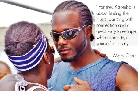 Kizomba is about feeling the music