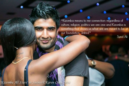 Kizomba is about connection. It shows us what we were meant to be at heart: connected