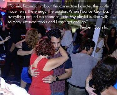 When I dance kizomba everything around me seems to fade